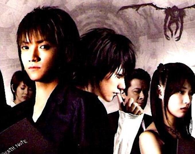 Death Note 2: The Last Name (A) | Cult Japan Cinema, Tatsuya Fujiwara | 2006 original print | Japanese chirashi film poster