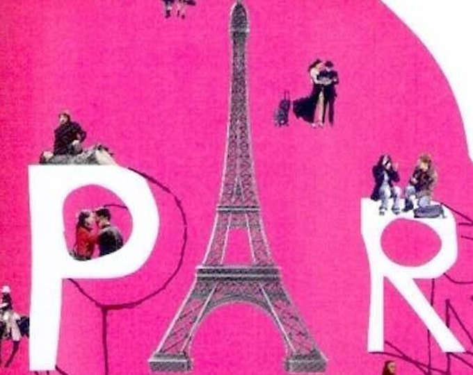 Paris Je T'aime (A) | European Cinema, Juliette Binoche | 2007 print | Japanese chirashi film poster