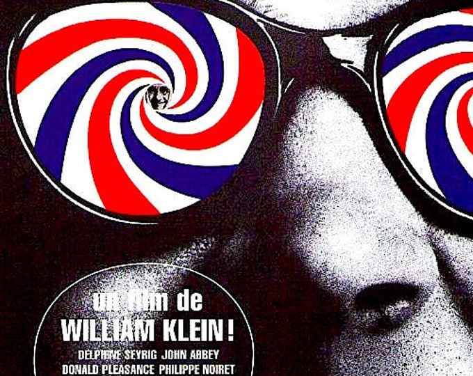 Mister Freedom | 60s French Cult Classic, William Klein | 1998 print | vintage Japanese chirashi film poster