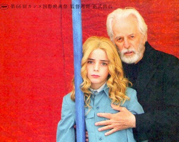 Dance of Reality   Alejandro Jodorowsky   2014 print   Japanese chirashi film poster