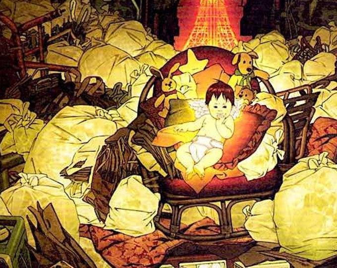 Tokyo Godfathers (B) | Anime Classic, Satoshi Kon | 2003 original print | Japanese chirashi film poster