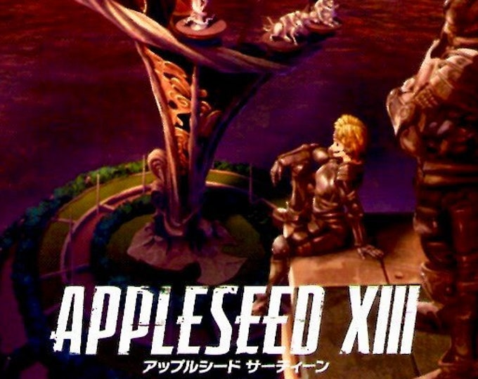Appleseed XIII | Anime Appleseed Saga | 2011 original print | Japanese chirashi film poster