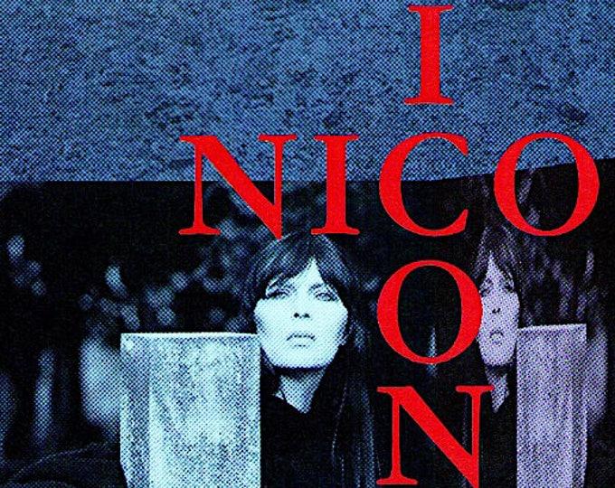 Nico Icon | Velvet Underground | 1997 original print | vintage Japanese chirashi film poster
