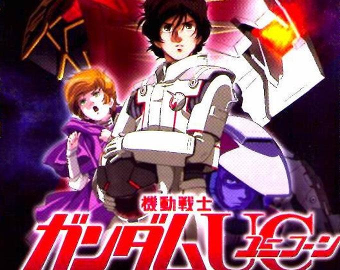 Mobile Suit Gundam Unicorn 2 | Classic Anime Series | 2010 original print | Japanese chirashi film poster