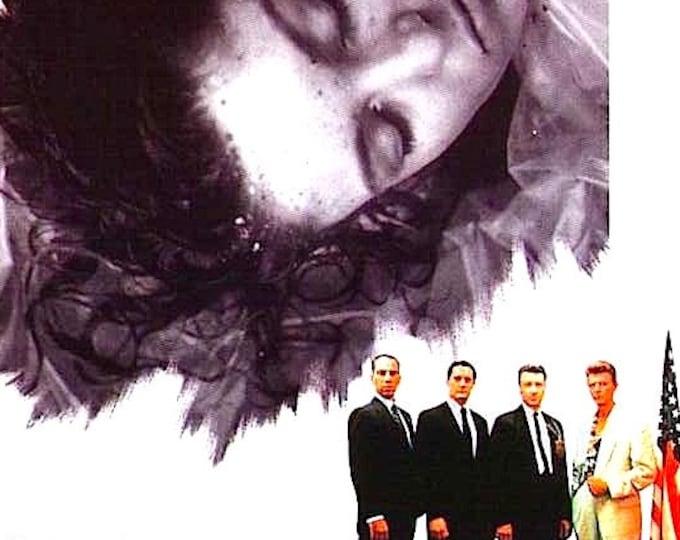 Twin Peaks (A) | 90s Cult Movie, David Lynch | 1992 original print | vintage Japanese chirashi film poster