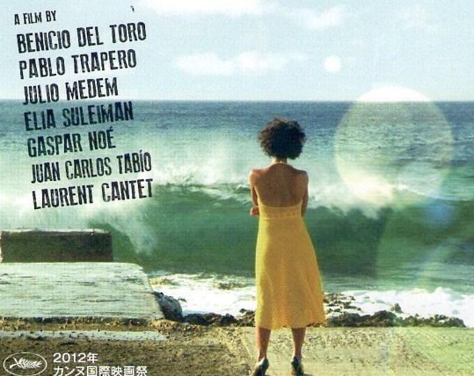 7 Days in Havana (B)   Gaspar Noé, Benicio Del Toro   2012 original print   Japanese chirashi film poster