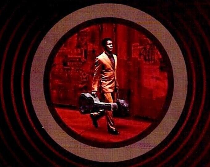 Limits of Control (B) | Jim Jarmusch, Isaach De Bankole, Tilda Swinton | 2009 original print | Japanese chirashi film poster