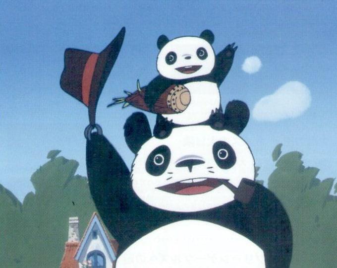 Panda Go Panda (C) | Anime Isao Takahata, Studio Ghibli | 2018 print | Japanese chirashi film poster
