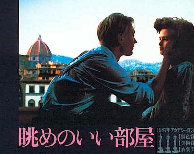 A Room With A View (A) | 80s UK Classic, Julian Sands | 1988 original print | vintage Japanese chirashi film poster