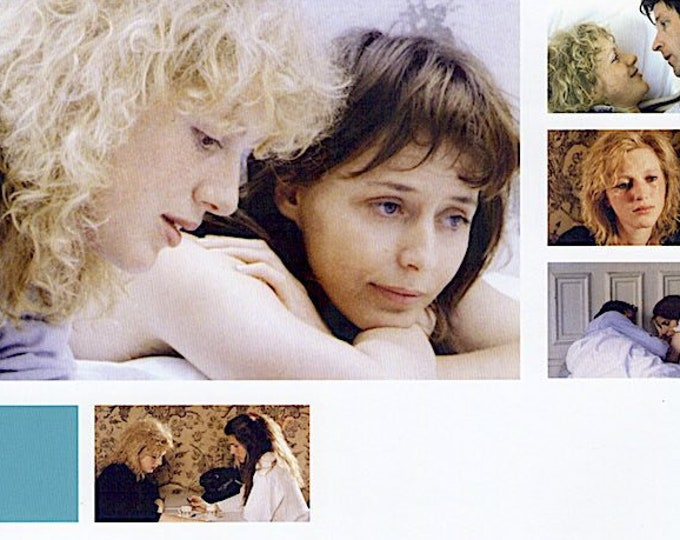 J'Entends plus la guitare (B) | 90s French Cinema, Philippe Garrel | 2019 print | Japanese chirashi film poster