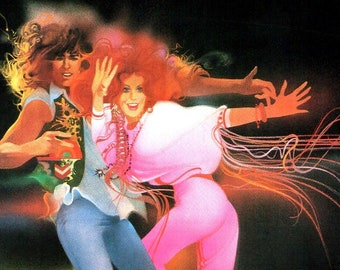 Hair | 70s Cult Classic, Milos Forman | 1980 original print | vintage Japanese chirashi film poster