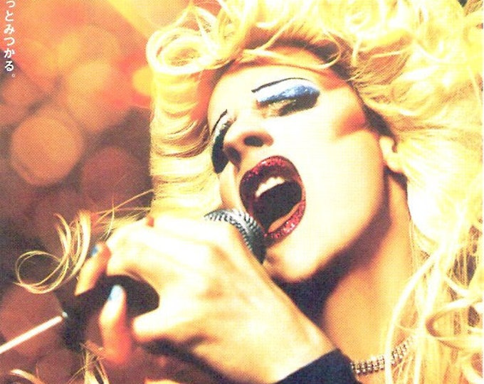 Hedwig and the Angry Inch | American Cult Classic, John Cameron Mitchell | 2002 original print | Japanese chirashi film poster