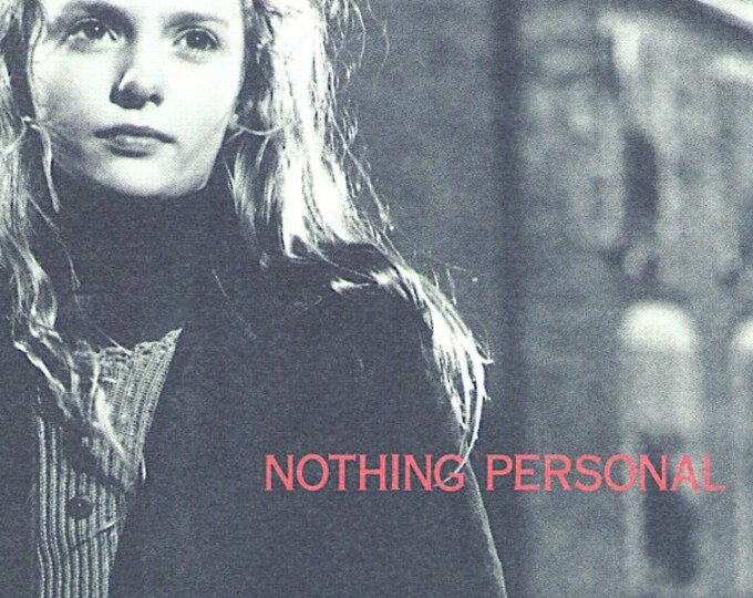 Nothing Personal | 90s British Cinema | 1997 original print | vintage Japanese chirashi film poster
