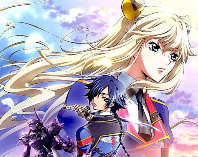 Code Geass   Japan Anime Series   2012 original print   Japanese chirashi film poster