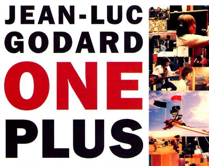 One Plus One | 60s Classic, Jean-Luc Godard, The Rolling Stones | 1997 print | vintage Japanese chirashi film poster