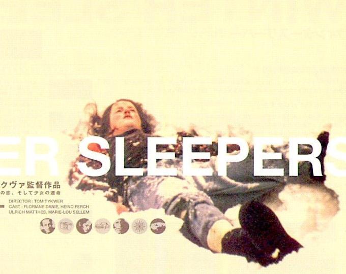 Winter Sleepers | 90s German Cinema, Tom Tykwer | 2001 original print | Japanese chirashi film poster