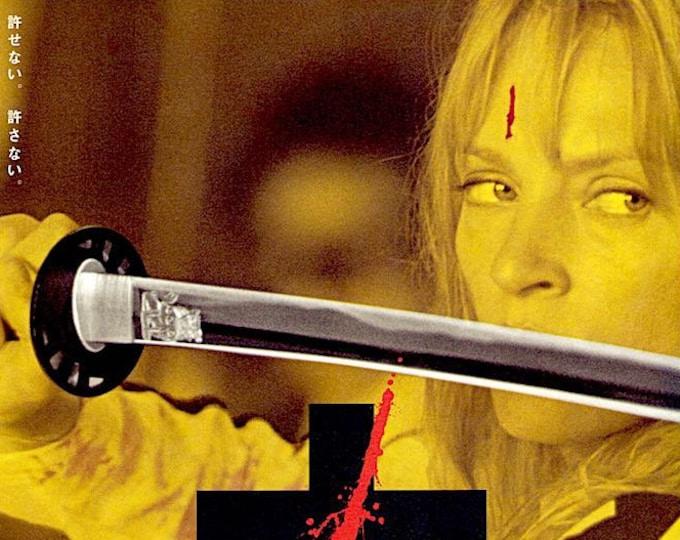 Kill Bill (A) | Cult Classic, Quentin Tarantino, Uma Thurman | 2003 original print | Japanese chirashi film poster