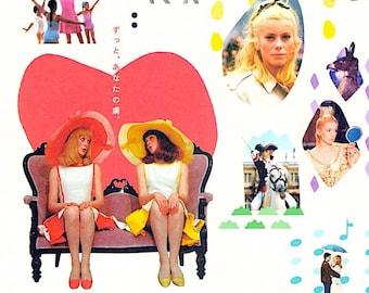 Jacques Demy et Michel Legrand | 60s French Classics, Catherine Deneuve | 2017 print | Japanese chirashi film poster