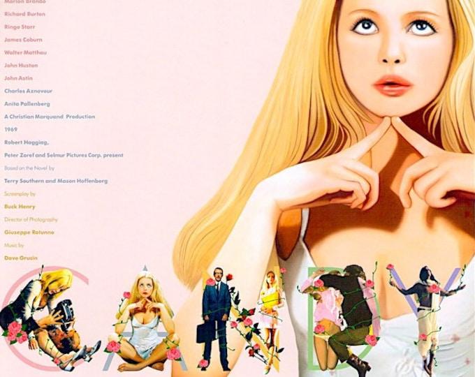 Candy | 60s Cult Classic, Ewa Aulin | 2003 print | Japanese chirashi film poster