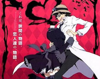 Durarara!!x2 Ten | Japan Anime Series | 2015 original print | Japanese chirashi film poster