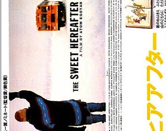 Sweet Hereafter | 90s Canadian Cinema, Atom Egoyan | 1998 original print | vintage Japanese chirashi film poster