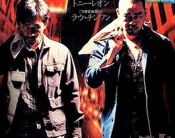 Longest Nite | Hong Kong Action, Lau Ching Wan, Tony Leung | 1999 original print | Japanese chirashi film poster