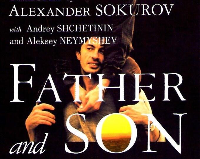 Father and Son | Russian Cinema, Aleksandr Sokurov  | 2006 original print | Japanese chirashi film poster