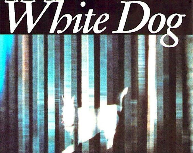 White Dog | 80s Cult Classic, Samuel Fuller | 1990 print | vintage Japanese chirashi film poster