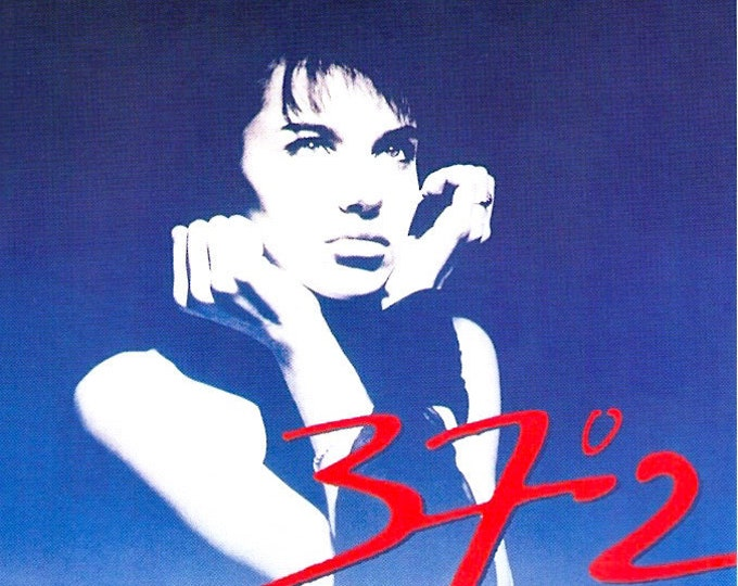 Betty Blue (B) | 80s French Classic, Beatrice Dalle, Jean-Jacques Beineix | 1993 print | vintage Japanese chirashi film poster