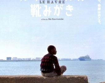 Le Havre | Finnish Cinema, Aki Kaurismaki | 2012 original print | Japanese chirashi film poster
