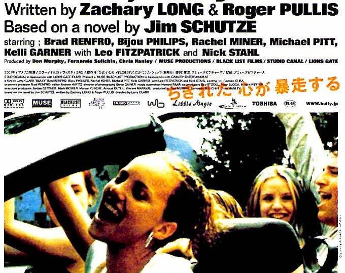 Bully | American Cinema, Larry Clark | 2003 original print | Japanese chirashi film poster