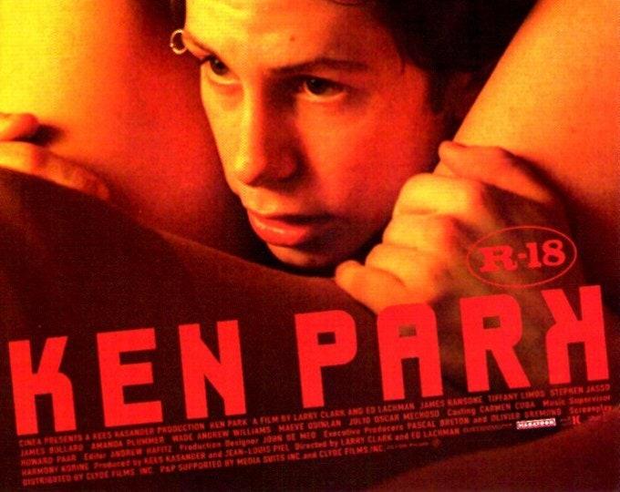 Ken Park (B) | Larry Clark, Harmony Korine | 2003 original print | Japanese chirashi film poster