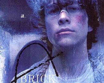Brick | US Cult Classic, Joseph Gordon-Levitt | 2007 original print | Japanese chirashi film poster
