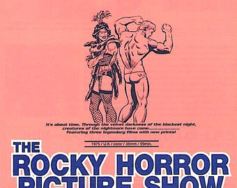 Rocky Horror Picture Show (C) | 70s Cult Movie, Jim Sharman | 1997 print | vintage Japanese chirashi film poster