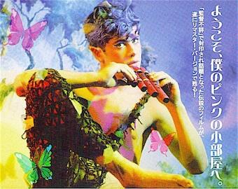 Pink Narcissus (B) | 70s Underground Cult Gay Movie | 2006 print | Japanese chirashi film poster