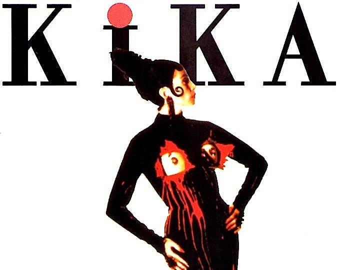 Kika | 90s Spanish Cinema, Pedro Almodovar, Veronica Forque | Jean-Paul Gaultier | 1994 orig print | vintage Japanese chirashi film poster