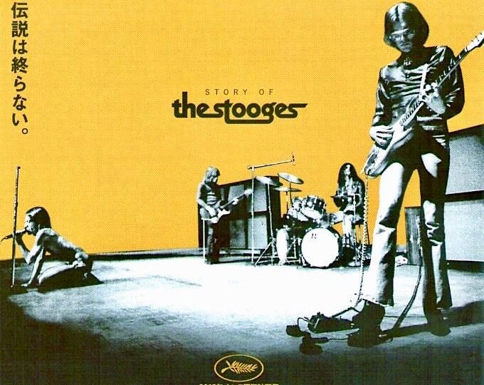 Gimme Danger   The Stooges Documentary, Jim Jarmusch   2017 original print   Japanese chirashi film poster