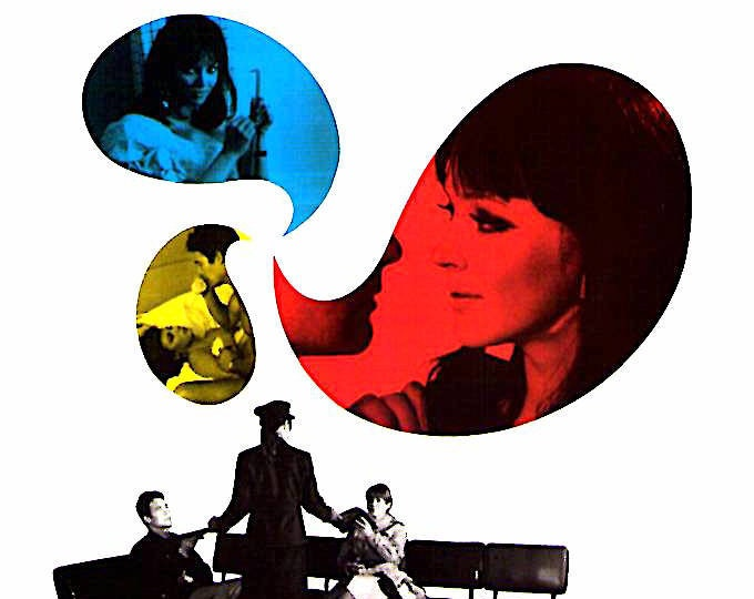 Anticipation | 60s French Cinema, Anna Karina, Jean-Luc Godard | 1999 print | Japanese chirashi film poster