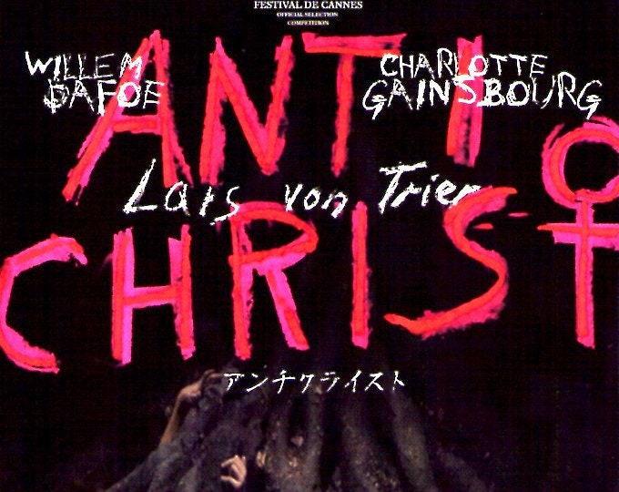 Antichrist (A)   Cult Classic, Lars von Trier, Charlotte Gainsbourg   2011 original print   Japanese chirashi film poster