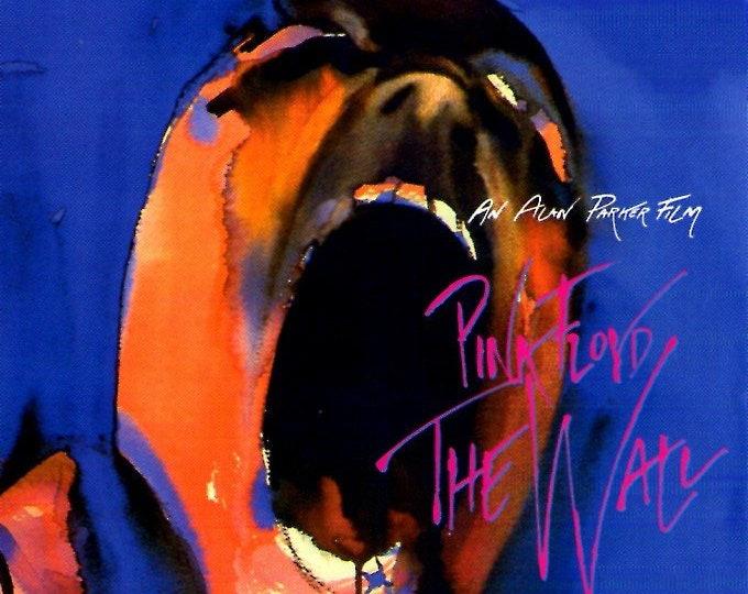 Pink Floyd - The Wall (B) | 80s Alan Parker, Bob Geldof | 2002 print | Japanese chirashi film poster