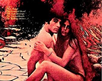 Zabriskie Point | 70s Cult Classic, Michelangelo Antonioni | 1996 Print | vintage Japanese chirashi film poster