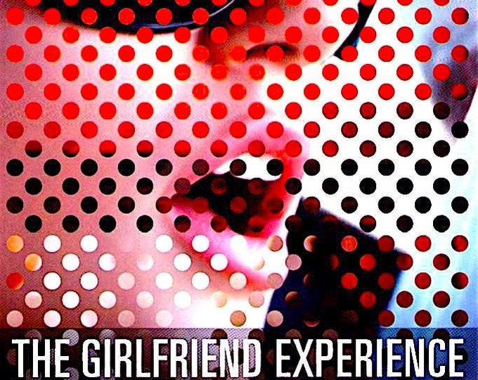 Girlfriend Experience | Steven Soderbergh, Sasha Grey | 2010 original print | Japanese chirashi film poster