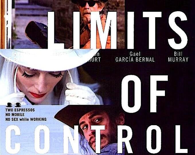 Limits Of Control (A) | Jim Jarmusch, Isaach De Bankole, Tilda Swinton | 2009 original print | Japanese chirashi film poster