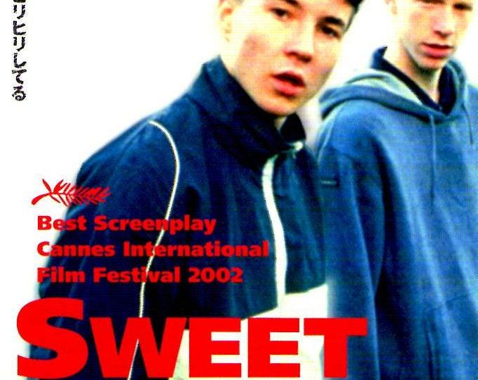 Sweet Sixteen | British Cinema, Ken Loach | 2002 original print | Japanese chirashi film poster