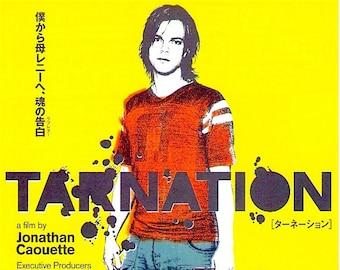 Tarnation | Jonathan Caouette, Gus Van Sant | 2005 original print | Japanese chirashi film poster