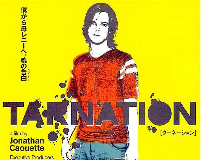 Tarnation   Jonathan Caouette, Gus Van Sant   2005 original print   Japanese chirashi film poster