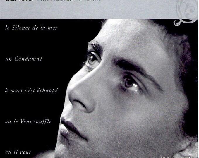 Le silence de la mer | 40s French Classic, Jean-Pierre Melville | 2010 print | Japanese chirashi film poster