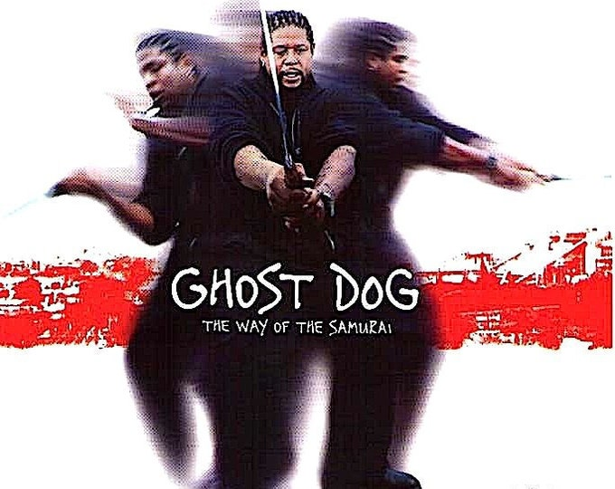 Ghost Dog | 90s Jim Jarmusch, Forest Whitaker | 1999 original print | vintage Japanese chirashi film poster