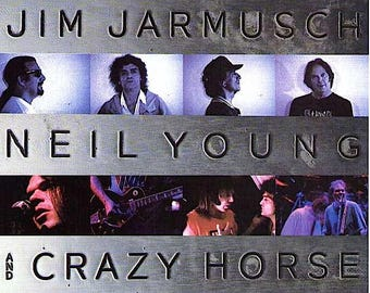 Year of the Horse | 90s Jim Jarmusch, Neil Young | 1998 original print | vintage Japanese chirashi film poster