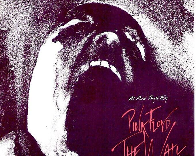 Pink Floyd - The Wall (A) | 80s Alan Parker, Bob Geldof | 1983 original print | vintage Japanese chirashi film poster